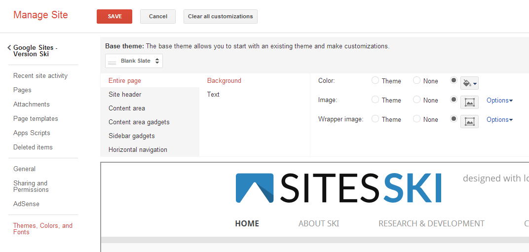 Web Design with Google Sites: New Google Sites Features