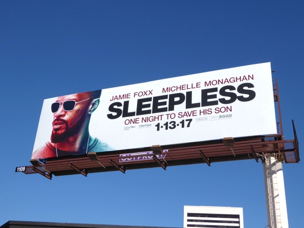 Sleepless movie billboard