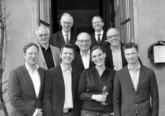 Der alte und der neue Vorstand des VDP Nahe-Ahr 2016