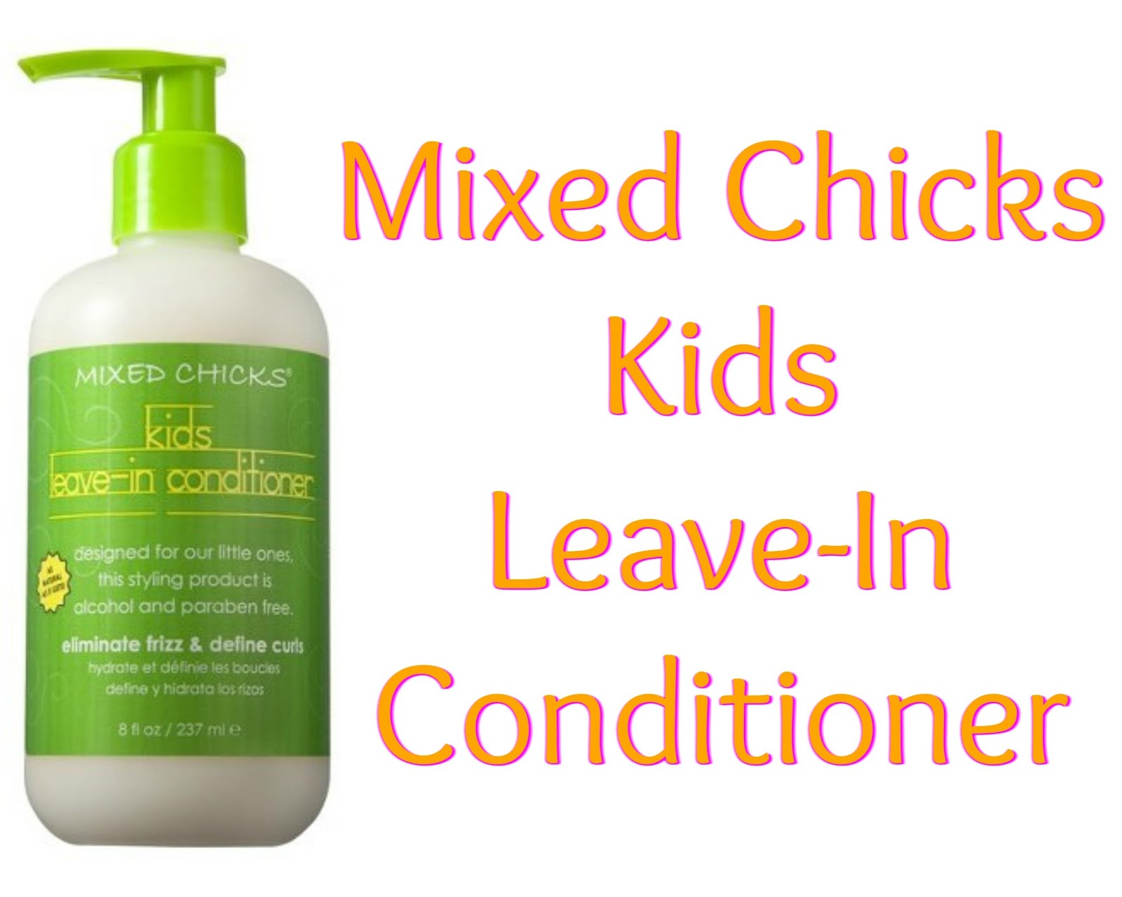 Click here to buy Mixed Chicks Kids Leave-In Conditioner to beat up those tangles!
