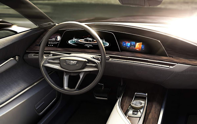 Cadillac Escala - interior