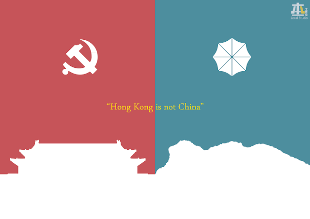 Local Studio HK posted 22 photos describing the big difference between the mainland CHINA and Hong Kong