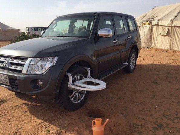 Cиденье Car Tire Toilet Seat для туалета в дороге
