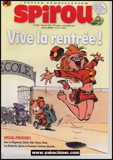 Poster Spirou sur www.yakachiner.com