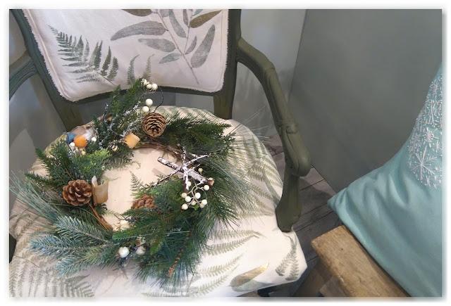 Couronne de Noël naturelle Marie-Claire idées