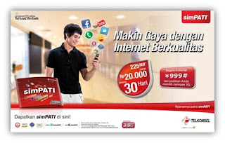Paket Internet Murah SimPATI Internet Mania