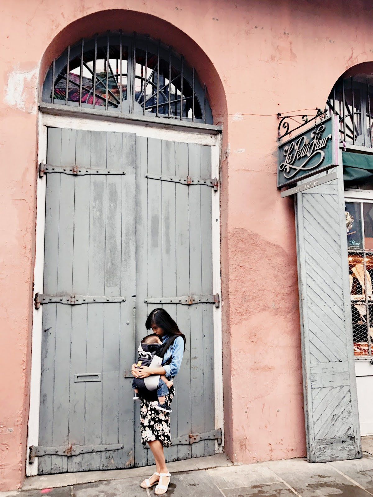 French Quarter New Orleans with a Toddler