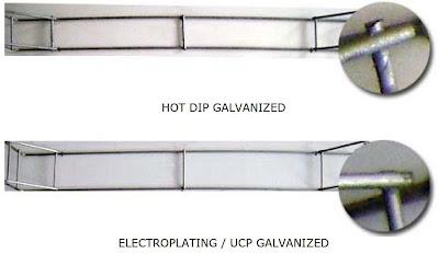 Hot Dip Galvanized Harga Pabrik