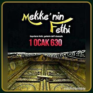 1 ocak 630, ebu süfyanın müslüman oluşu, hudeybiye antlaşması, hz muhammedin hayatı, hz. muhammed, islam tarihi, kâbe, mekke'nin fethi, putların yıkılması, resimli mesajlar, siyeri nebi,