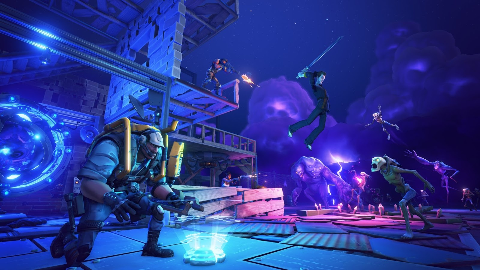 Download Fortnite HD Wallpapers  Read games review, play online games  download games wallpapers
