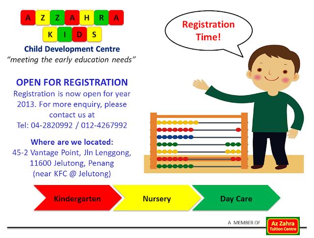 Azzahra Kids Development Centre  Preschool Programme