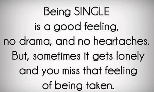 being sinle is a good feeling no drama being single quote | Eline Van Dingenen