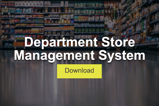 Department Store Management System