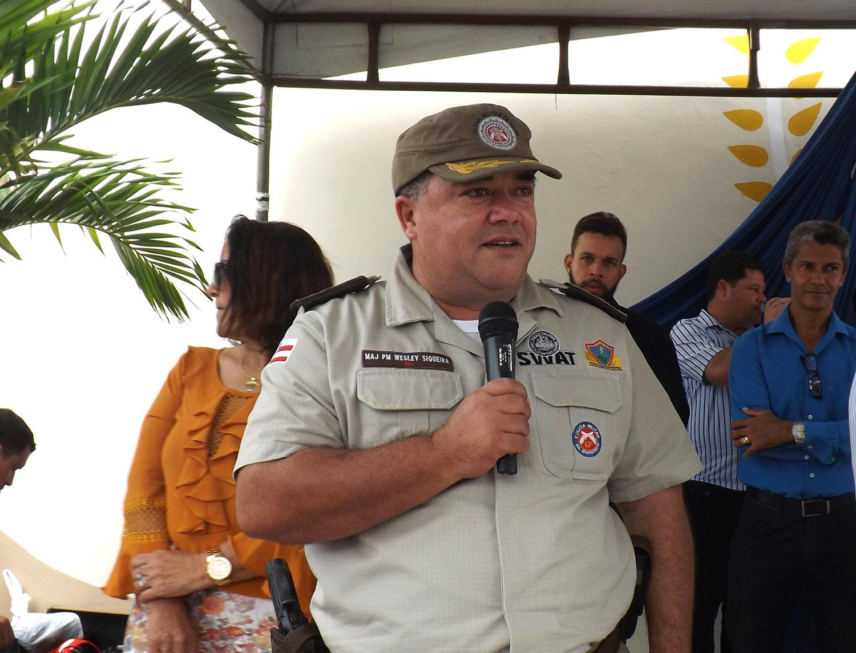 Resultado de imagem para Major PM Wesley Bomfim Siqueira