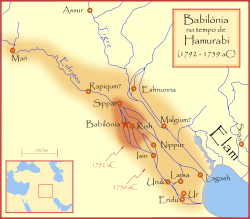 Império Babilônico (1.728 a.C. a 1.513 a.C.)