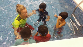 BritSwim learn to swim lessons Muscat Oman best swimming