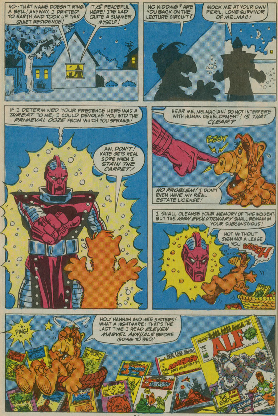 Read online ALF comic -  Issue # _Annual 1 - 57