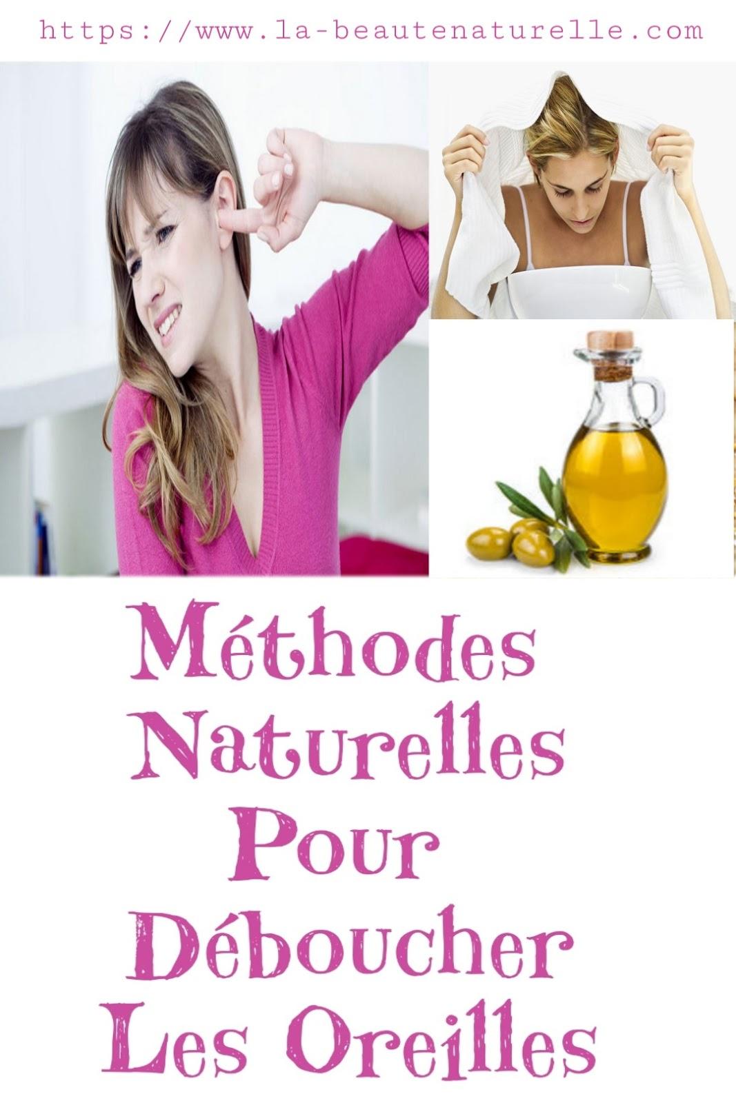 Méthodes Naturelles Pour Déboucher Les Oreilles