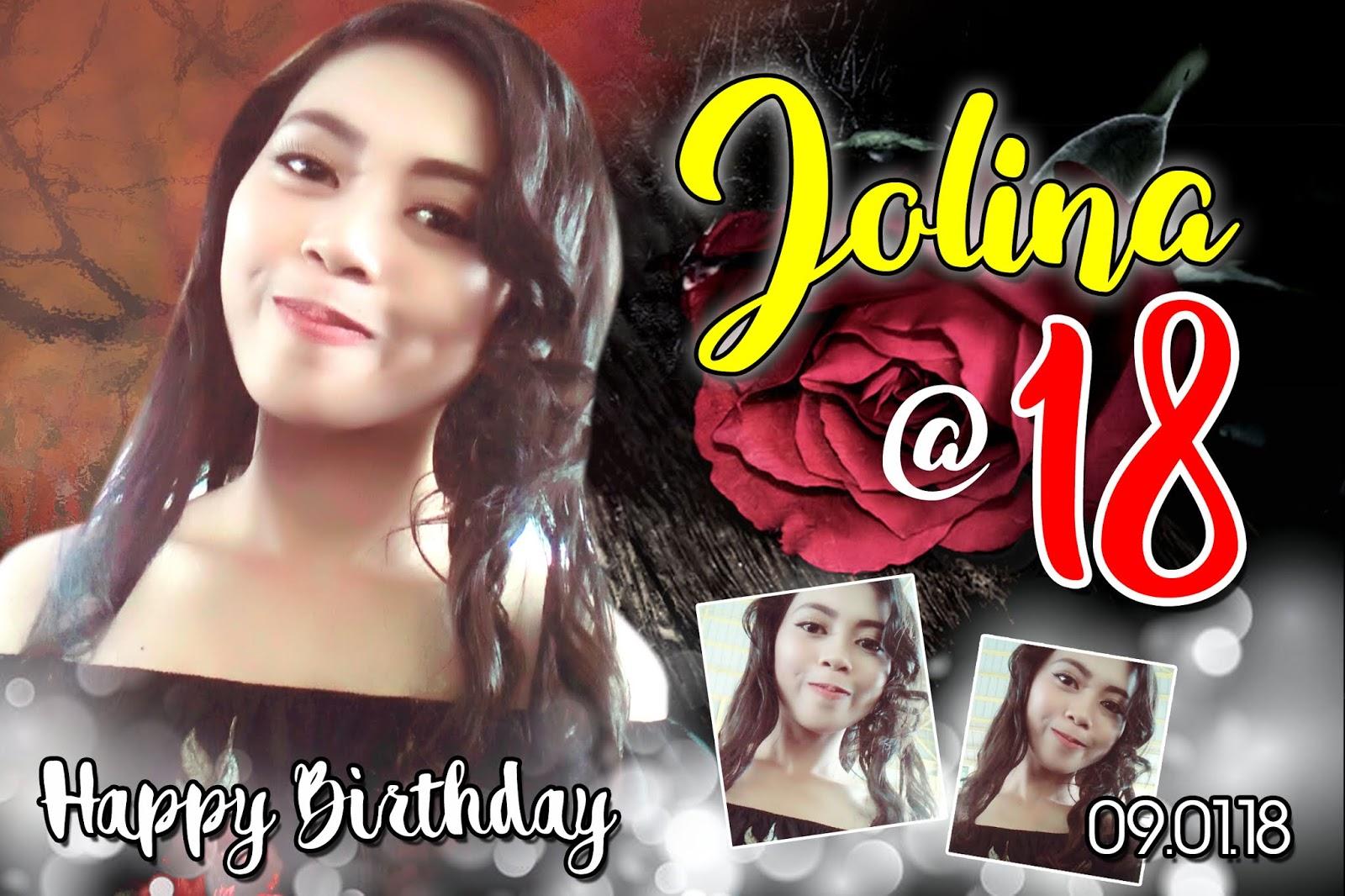 JOLINA AT 18