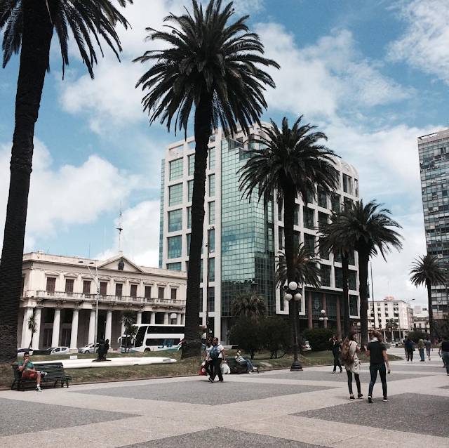 Montevidéu Plaza da independencia