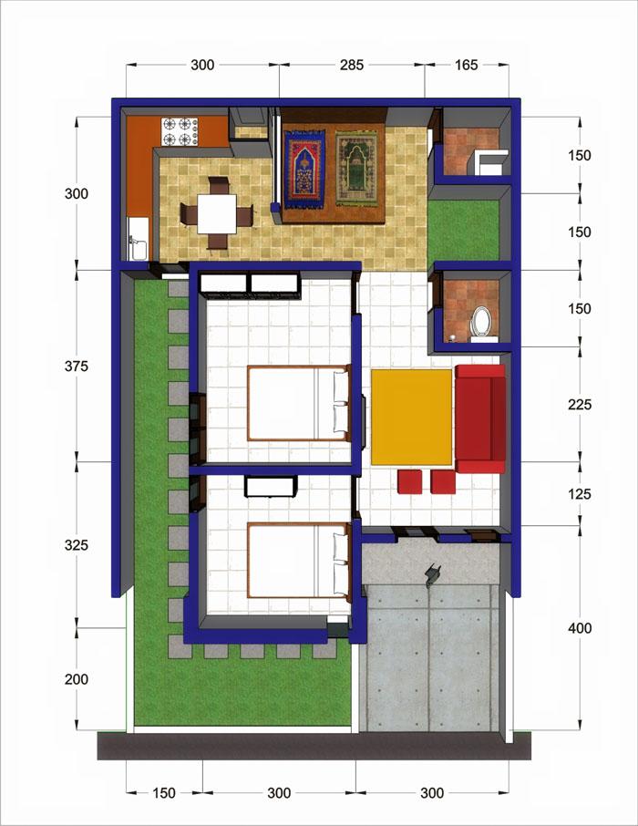 41 Gambar Rumah Type 28/60 Terbaru