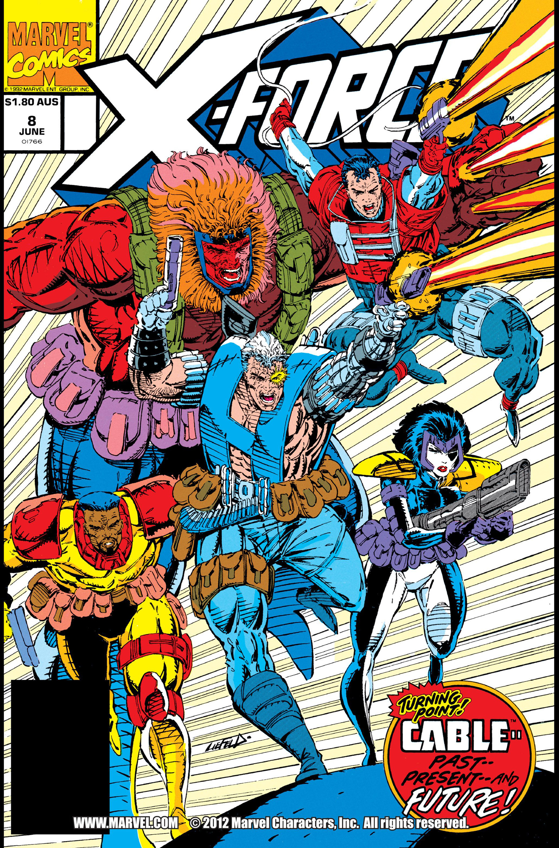 X-Force (1991) 8 Page 1