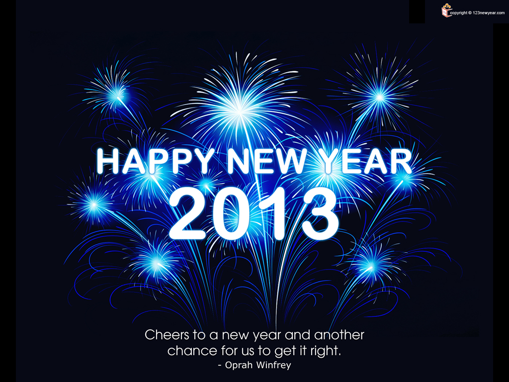 happy new year 2013. 1024 x 768.Free Happy New Year Clip Art.com