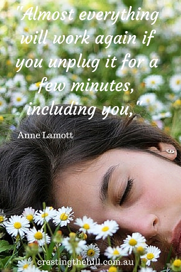 -Almost everything will work again if you unplug it for a few minutes, including you,- Anne Lamott #quote