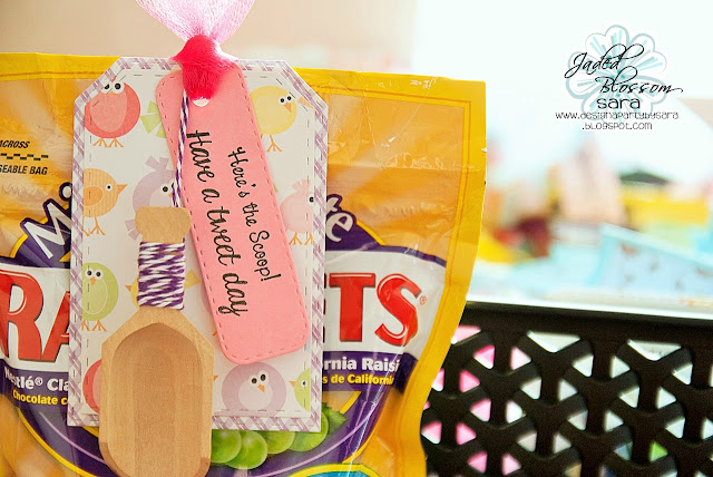 Jaded Blossom Ld Thank You Gift Basket