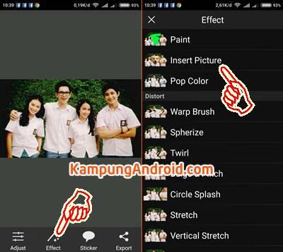 Edit Foto Kepala Upin Ipin
