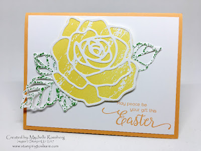 Stampin' Up! Rose Wonder, Stamping to Share