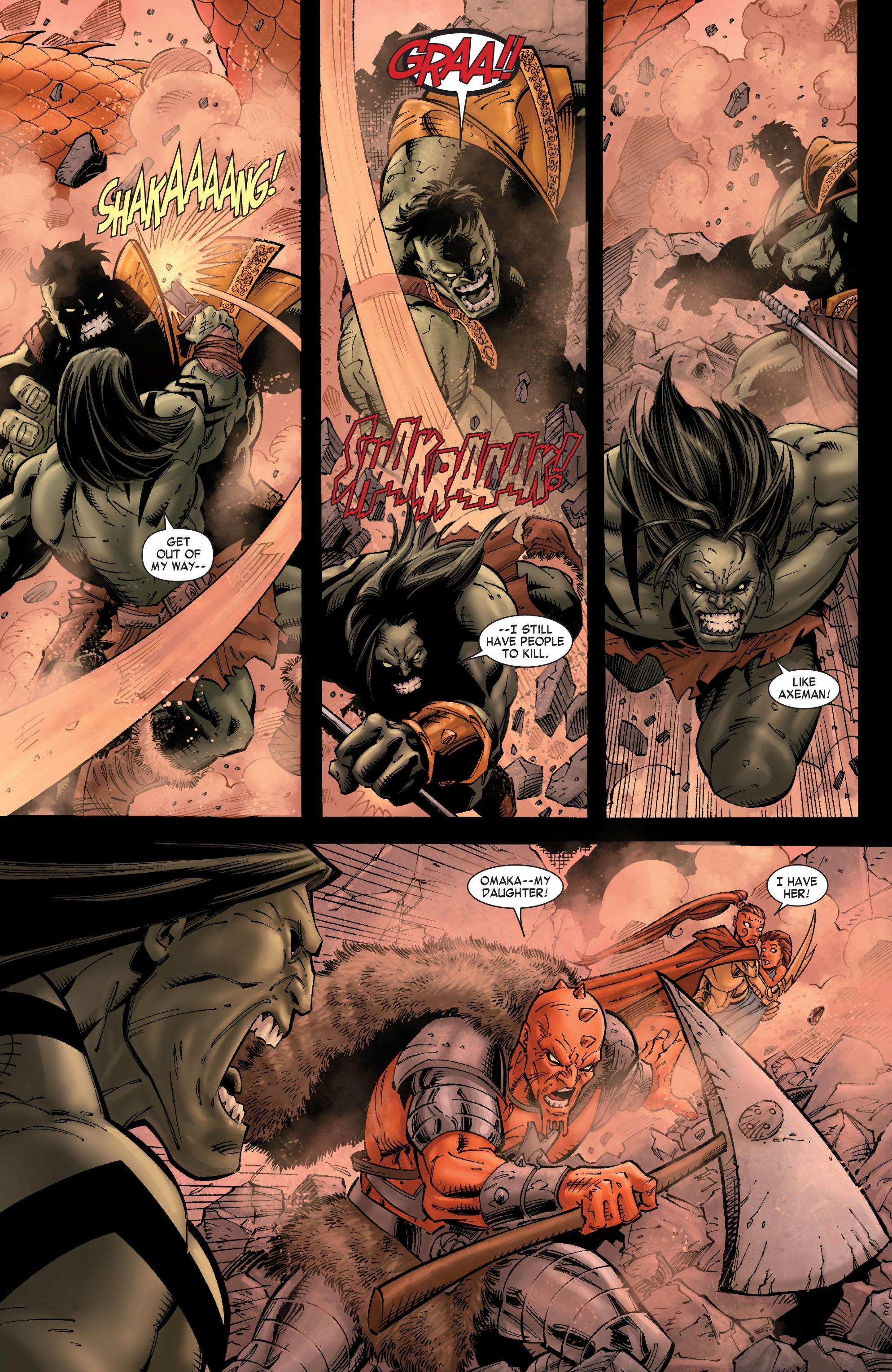 Read online Skaar: Son of Hulk comic -  Issue #9 - 6