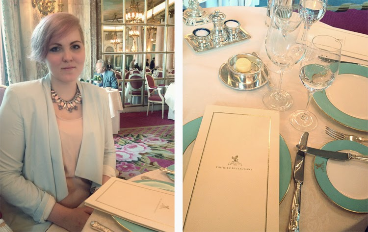 Lunch at the Ritz Carlton London