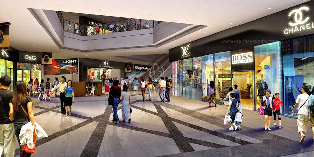 Trung tâm thương mại tại dự án Booyoung Vina