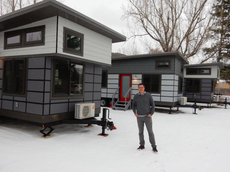 Tiny Houses at the Aspen Ski Company TINY HOUSE TOWN