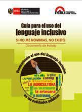 Guia del uso para el lenguaje inclusivo