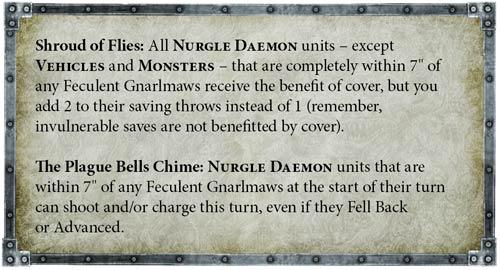 Códex Demonios Nurgle