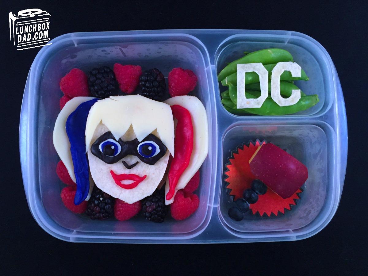 DC Superhero Girls & Lunchbox Dad: How to Make a Harley Quinn DC Superhero Girls Lunch Aboutintivar.Com