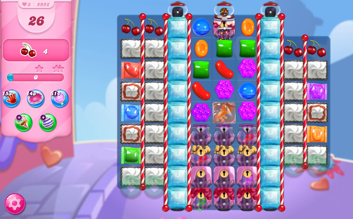 Candy Crush Saga level 5952