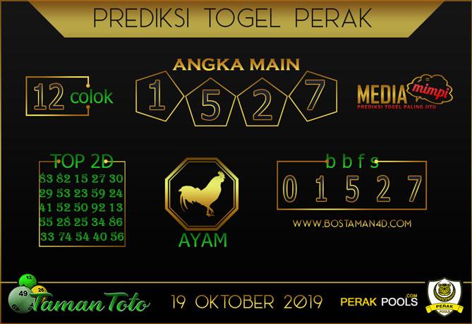 Prediksi Togel PERAK TAMAN TOTO 19 OKTOBER 2019