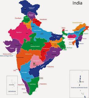 India map gksea
