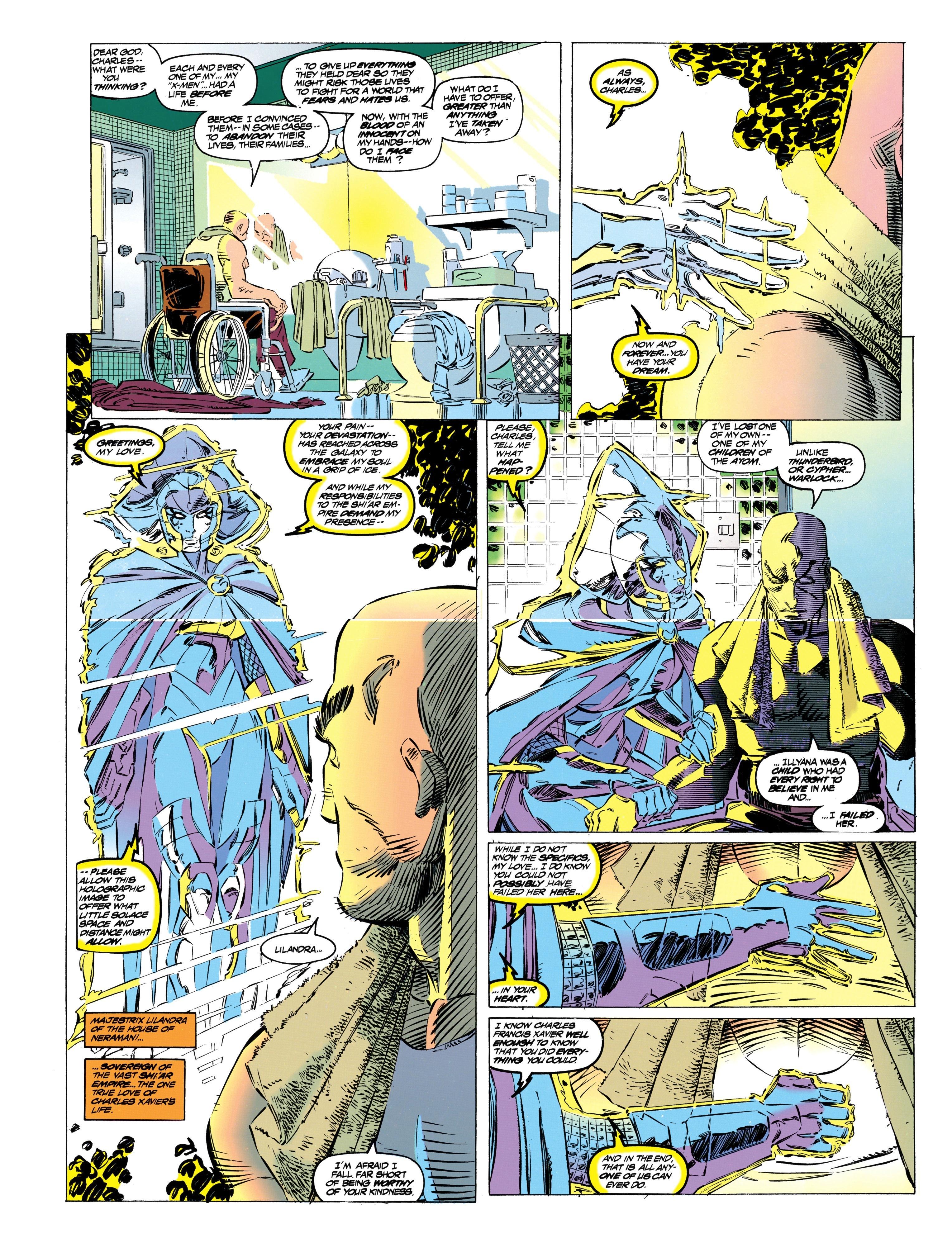 Read online Uncanny X-Men (1963) comic -  Issue #304 - 7