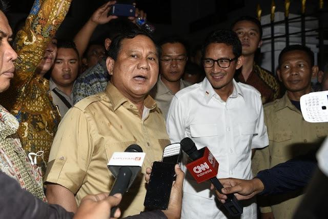 Prabowo: Ahok Sudah Buat Suasana NKRI Panas