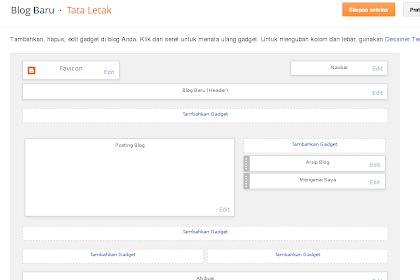 Cara Mudah Megatur Tata Letak Blogger Dengan Desain Tampilan Widget Blogspot SEO Friendly