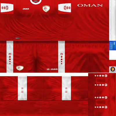 PES 6 Kits Oman National Team Season 2018/2019 by WindowOp