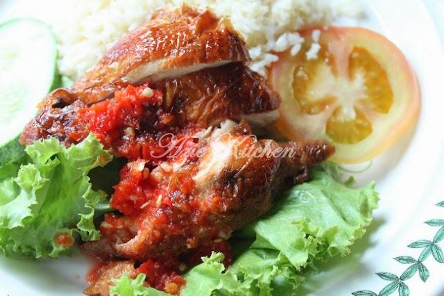 Nasi Ayam Hainan Azie Kitchen Yang Sangat Sedap