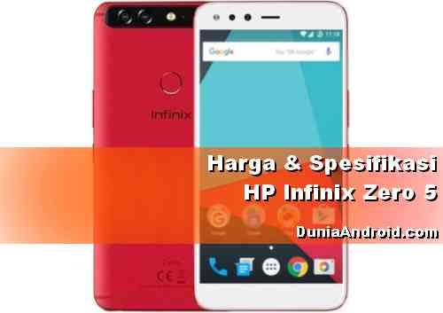 Harga HP Infinix Zero 5
