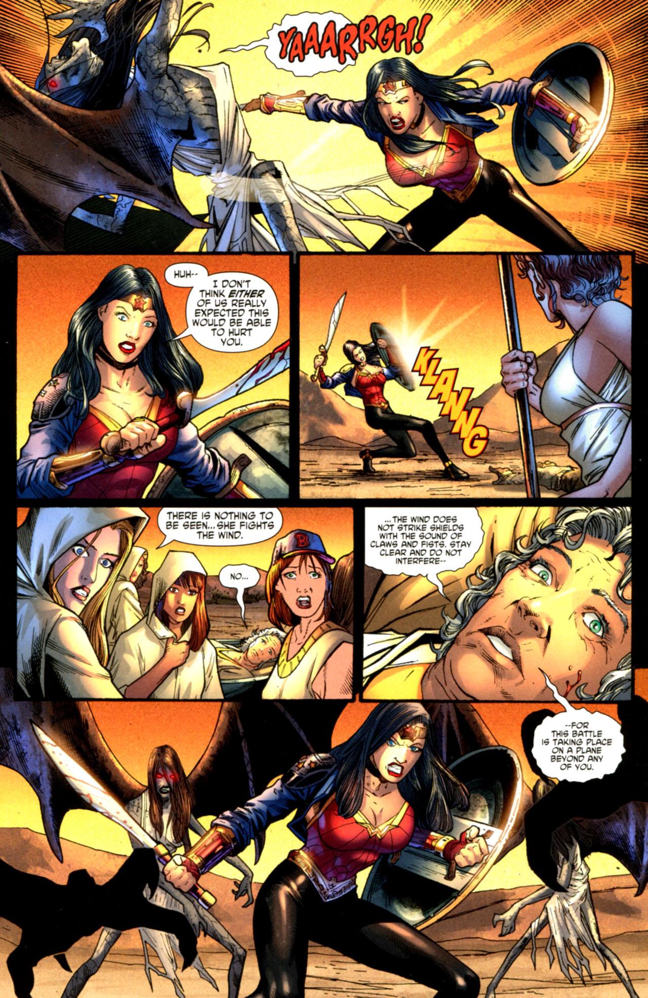 Read online Wonder Woman (2006) comic -  Issue #603 - 8