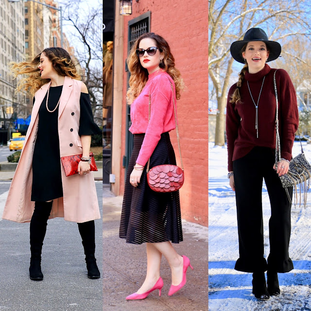 Nyc fashion blogger Kathleen Harper's cute winter outfits
