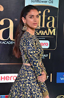 Aditi Rao Hydari in a Beautiful Emroidery Work Top and Skirt at IIFA Utsavam Awards 2017  Day 2 at  28.JPG